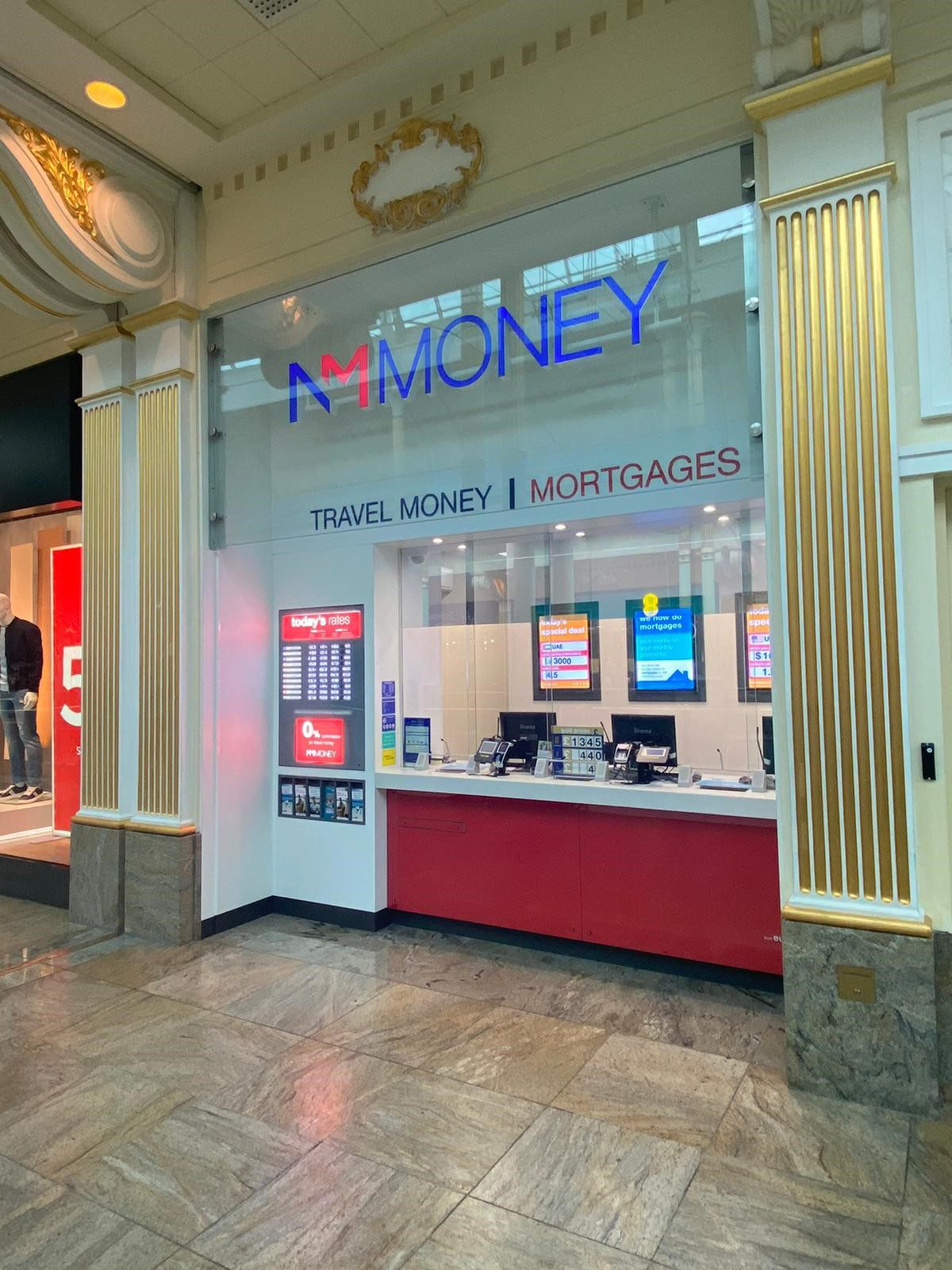 NM Money Manchester Trafford Centre (formerly eurochange)