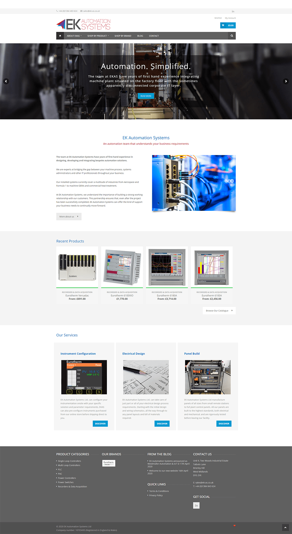 EK Automation Systems - Homepage